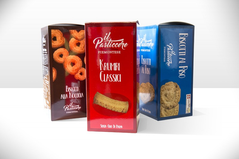 Pasticcere Piemontese | Packaging Biscotti per PAM PANORAMA