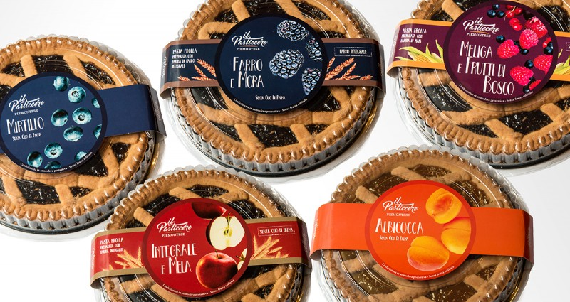 Pasticcere Piemontese | Packaging Crostate per PAM PANORAMA
