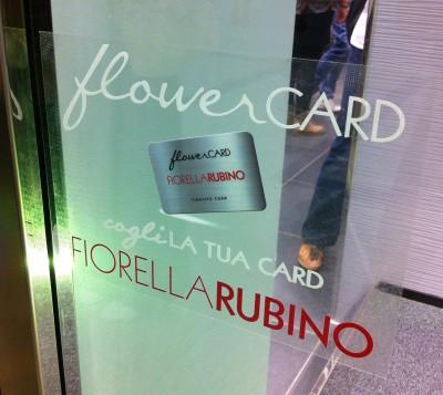 Fiorella Rubino | Vetrofania Flower Card