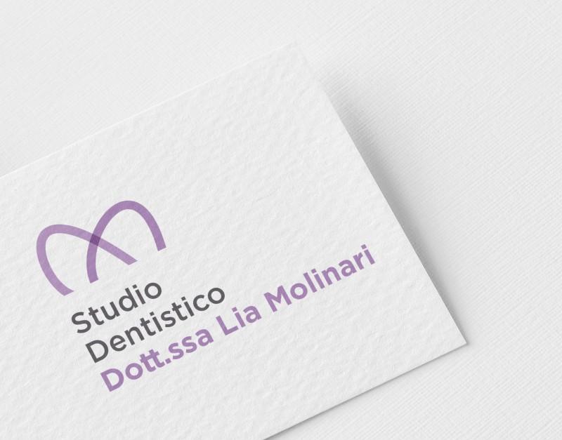 AdContent | Logo Stdo Deentistico Dott.ssa Lia Molinari